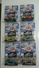 M2 CLEARLY AUTO-THENTICS 6 CARS FULL SET RELEASE 2 MINT 1:64