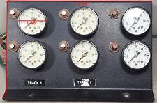 Set of 6 USG AMETEK U.S. GAUGES 0-60 PSI Pressure Gauge.