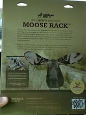 2 for 1 (2) Montana Decoys moose Head Moose Rack Moose Decoy archer choice