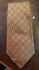 Vintage Gold Red Black Wide Lds Mens Necktie Free Shipping