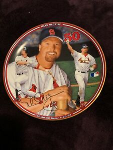 "Mark McGwire ""50-50-50 Game""  Bradford Exchange Plate"