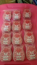 HUGE SCENTSY BAR LOT OF 12 Johnny Appleseed  BARS -FREE SHIPPING PRIORITY