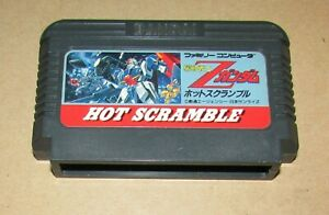 Mobile Suit Z Gundam Hot Scramble for Nintendo Famicom Fast Shipping