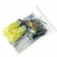 DIY Smart Tracking Robot Auto-Elektronikbausatz mit Kit Untersetzungsmotor P2T5