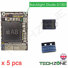 5 X Backlight Diode D1501 Chip Logic Board Diode for iPhone 6 iPhone 6 Plus & SE