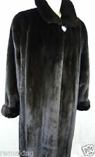 DARK  NERZ  PELZ  SWINGER  Gr 46 HOPKA MINK  SAGA ROYAL FEMALES Coat Mex шуба