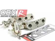OBX Turbo Header FITS 97-02 B5 S4 97-04 C5 A6 01-05 Allroad Qua 2.7L Bi-Turbo
