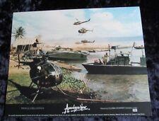 APOCALYPSE NOW lobby card # 2 FRANCIS FORD COPPOLA - mini UK card VIETNAM WAR