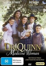 Dr Quinn Medicine Woman : Season 4 (DVD, 2010, 8-Disc Set) - Region 4