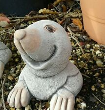 Pop Up Mole - Garden Ornament  - Hand Cast