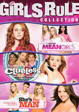 Girls Rule Collection - Clueless/Mean Girls/Shes the Man (Dvd, 2007, 3-Disc Set…