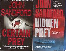 Complete Set Lot of 26 Prey Books by John Sandford (Lucas Davenport)