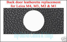 Leica M4,M3,M2,M1/NEW Backdoor Leatherette Replacement Part/Exce