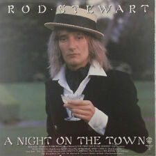 "Rod Stewart - A Night On The Town - 12"" LP - k811 - washed & cleand"