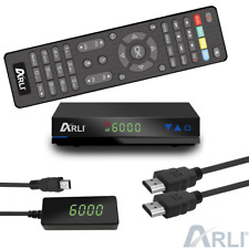 HD Sat Receiver ARLI AH1 digital Satelliten DVB-S2 HDTV IPTV Funktion HDMI USB