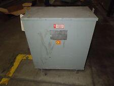 Westinghouse 22KVA 230x460-300Y/173V 3PH Dry Type Transformer Used E-OK