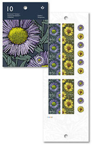 CANADA 2017 DAISIES BOOKLET MINT STAMPS FLOWERS FLORA SPRING NATURE GARDEN DAISY