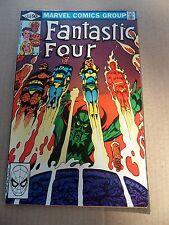 Fantastic Four  232 . Byrne Begins / Diablo / Dr Strange -  Marvel 1981 - VF