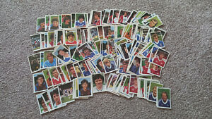 LARGE LOT OF FKS SOCCER STARS STICKERS 1970'S 1980'S – OVER 360 FOOTBALL STICKER