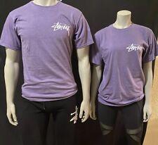 stussy t shirt M Purple Unisex