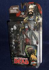 The Walking Dead Comic Book JESUS Figure Bloody B&W McFarlane Skyboud Exclusive
