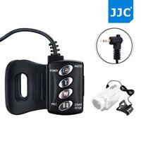 JJC 1.5m Remote Commander for SONY LANC ACC Socket Handycam Camcorder as RM-VD1