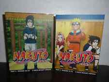 Naruto Episodes Part 2 and Part 3 DVD sets