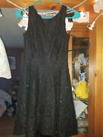 Juniors Black Holiday Homecoming dress Size 1