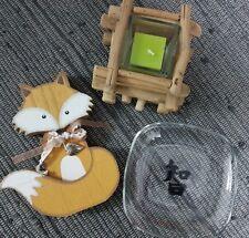 Fuchs Deko Kerzenhalter Schale mit chinesischen Zeichen Depot