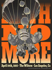 FAITH NO MORE poster Los Angeles 2015 by Huck Gee