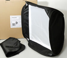 "(PRL) TRISTAR EASY-FOLDER SOFTBOX FLASH MODEL 40x40 16x16"" DIFFUSORE LUCE STUDIO"