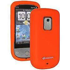 AMZER Orange Silicone Jelly Case for Sprint HTC Hero