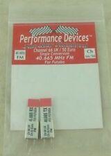 40Mhz Futaba Single Conversion FM TX/RX Crystal Set UK CH66/Euro CH50 40.665Mhz