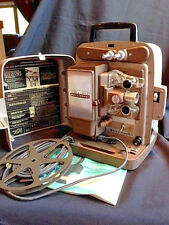 VTG BELL & HOWELL 8mm AUTO-LOADFILM MOVIEPROJECTOR W/MANUAL #245BA
