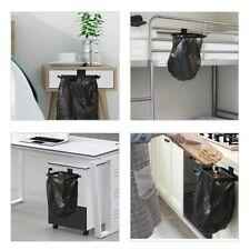 Space Aluminum Kitchen Hanging Garbage Bag Bracket Holder Trash Storage Rack