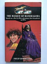 Doctor Who - The Masque of Mandragora - Target 42 - Virgin Blue Spine Reprint