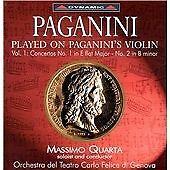 PAGANINI: PLAYED ON PAGANINI'S VIOLIN, VOL. 1 NEW CD