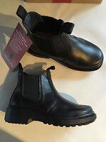 BNIB Little Boy Sz US 11.5 Thomas Cook Romper Black Leather School Boots RRP $80
