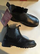 BNIB Little Boys Sz US 9.5 Thomas Cook Romper Black Leather School Boots RRP $80