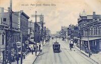 OH - 1908 Trolley on Main Street at Alliance, Ohio - Stark & Mahoning Counties