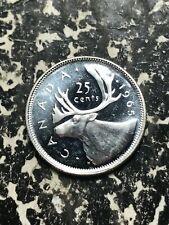 1965 Canada 25 Cents Lot#L7311 Silver! High Grade! Beautiful!