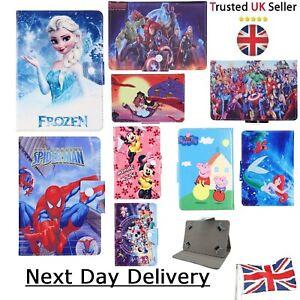 """Disney Cover Tablet Case for KIDS CHILDREN Boys & Girls Tab 7 """" 8 9.7 10.1 inch"""