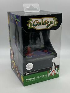 My Arcade Galaga Micro Player Retro Arcade NEW!