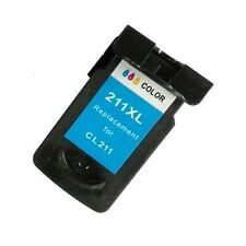 Reman Ink Cartridge for Canon CL-211XL use in Canon Pixma MP250 Printer (color)