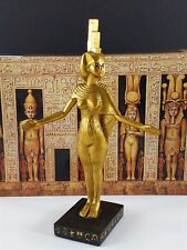 Isis Auset Goddess Statue Veronese Egyptian Collection Collectible