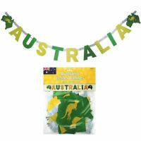 AUSTRALIA DAY JOINTED LETTER BANNER AUSTRALIAN ANZAC PARTY DECORATION AUSSIE