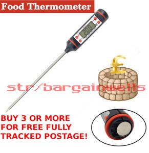 Thermometer Digital Cooking Temperature Food Probe Meat Bbq Kitchen Turkey Milk