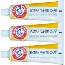 3 ARM & HAMMER Extra White Toothpaste Teeth/Tooth Whitening Fluoride No Peroxide