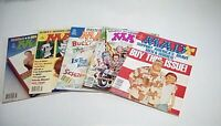 Mad Magazine Lot of 5 #'s 305 to 327 (EC)1991-94 -- Comedy Magazine -- VG to FN