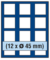 Blue Presentation Drawer for Coin Collection NOVA SAFE 6345 Presentation Drawer